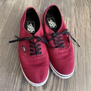 Vans Authentic Shoe Size 8.5